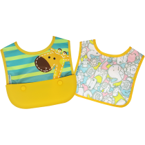 Marcus & Marcus Travel bib (Set of 2 Bibs) – Lola
