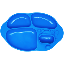 Marcus & Marcus Yummy Dips Suction Divided Plate – Lucas