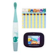 Marcus & Marcus Kids Interactive Sonic Silicone Toothbrush Set – Ollie