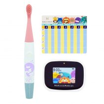 Marcus & Marcus Kids Interactive Sonic Silicone Toothbrush Set – Willo